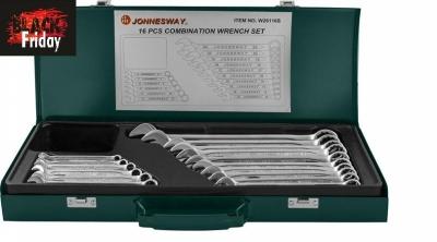 Набор комбинированных ключей Jonnesway W26116S