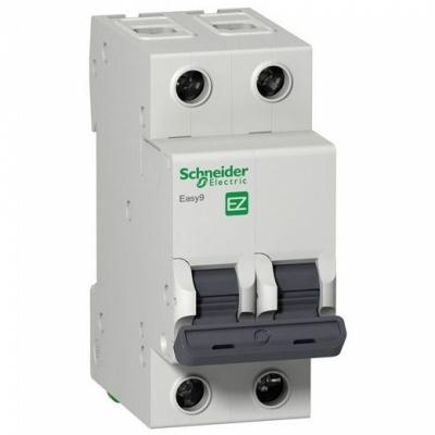 Автоматический выключатель 2-полюсный SCHNEIDER EZ9 2P 25A C EZ9F34225
