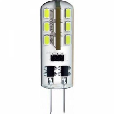 Светодиодная лампа DELUX G4E 1,5 Вт 3000K 12В G4 90003757 капсула