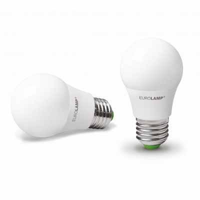 """Светодиодная лампа EUROLAMP LED ЕКО """"D"""" А50 7W E27 4000K LED-A50-07274(D)"""