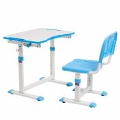 Комплект Cubby парта + стул трансформеры OLEA BLUE