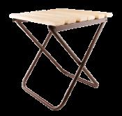 Стульчик с деревянным сиденьем