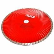 Алмазный диск T.I.P. 230 22,2 турбоволна