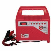 Автомобильное зарядное устройство для АКБ INTERTOOL AT-3012 6В-12В со светодиодными индикаторами