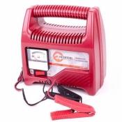 Автомобильное зарядное устройство для АКБ INTERTOOL AT-3014 со стрелочным индикатором