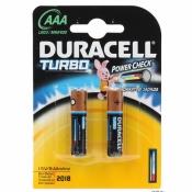 Батарейка Duracell Turbo AAА LR03 2 шт.