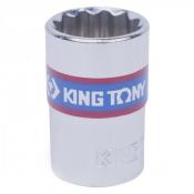 """Головка 3/8"""" 12гранн 22мм KING TONY 333022M"""