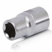 Головка торцевая шестигранная 1/2 15x38 мм INTERTOOL ET-0015 хром-ванадий