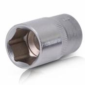 Головка торцевая шестигранная 1/2 19x38 мм INTERTOOL ET-0019 хром-ванадий