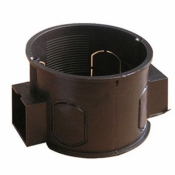 Коробка модульная Ø60 WAVE в бетон и кирпич ISO 9001 (подрозетник)