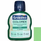 Краситель Снежка Colorex №41 зелёный 0,10л.