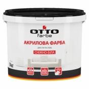 Краска ОТТО-Farbe акриловая эмульсия для стен и потолков, 7кг.