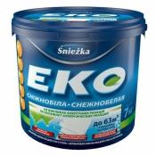 Краска Снежка Эко акриловая эмульсия для стен и потолков 1,4кг (1л)