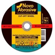 Круг отрезной Novoabrasive по металлу 125*1,0*22,2