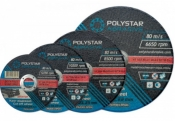 Круг шлифовальный по металлу MASTER Polystar 41 14А 125х6,0х22,23 Polystar Abrasive