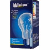 Лампа Искра 200Вт Е27 В66  230В прозрачная