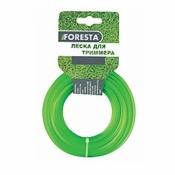 Леска к электро триммеру FORESTA зеленая 1,6мм, 15м