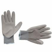 Перчатки рабочие  х/б с нитриловым покрытием INTERTOOL