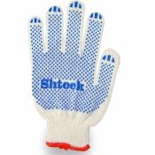 Перчатки Shtock белые трикотажные хлопчатобумажные