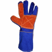 Перчатки сварщика Краги синие