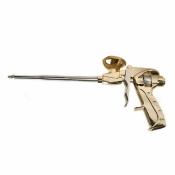 """Пистолет для пены """"Brigadier Professional"""" никель 78-058"""