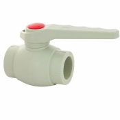 ПП Кран шаровый для горячей воды FADO 25 PKG020 полипропилен