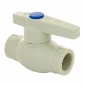 ПП кран шаровый для холодной воды FADO 25 PKG22 полипропиленовый