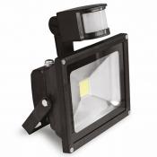 Прожектор EUROELECTRIC LED COB с датчиком движения 10W 6500K LED-FL-10(sensor) светодиодный