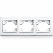 Рамка 3-трехместная  Erste Theme 9209-83,W белая