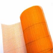 Сетка армированная  FASAD 5*5мм (1*50 м) оранжевая