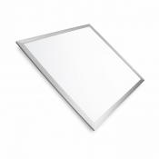 Светильник светодиодный EUROLAMP LED 60*60 панель 40W 4100K LED-Panel-40/41silver  серебряная рамка