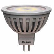 Светодиодная лампа DELUX JCDR 5Вт 4100K 220В GU5.3 10097121 точечная