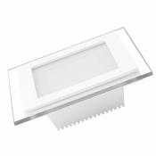 Светодиодная панель EUROLAMP LED Panel квадрат 6W 4000K 220V LED-DLS-6/4