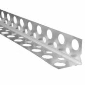 Угол малярный перфорированный пластиковый 3,0 м.