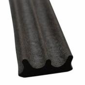 Уплотнитель самоклеющийся Budowa Е150 чёрный 9*4 мм 71047006