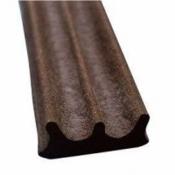 Уплотнитель самоклеющийся Budowa Е150 коричневый 9*4 мм 71047005