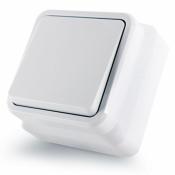 Выключатель 1-клавишный накладной Erste Country 8005-01 белый