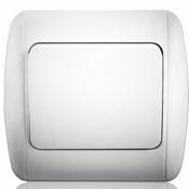 Выключатель 1-одноклавишный Erste Classic 9201-01 W белый