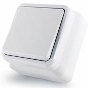 Выключатель 1-одноклавишный накладной Erste Country 8005-31,W белый
